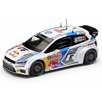 1:43 VW Polo R WRC #9 Rally Monte Carlo 2014