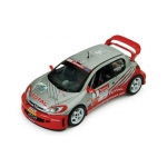 1:43 Peugeot 206 WRC Rally Cayennes 2005