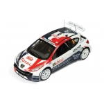 1:43 Peugeot 207 S2000 #6 Rally Monte Carlo 2010