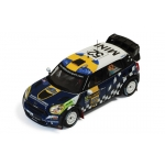 1:43 Mini Countryman WRC #52 Rally Sweden 2012