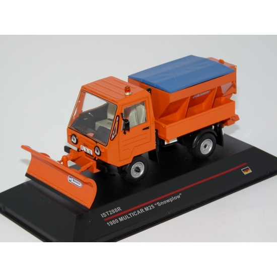 1:43 Multicar M25 Snowplow (1980)