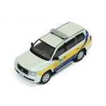 1:43 Toyota Land Cruiser 200 Qatar Traffic Police Car 2011