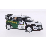 1:43 Mini Cooper Works #23 Rally Sweden 2013
