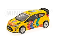 1:18 Ford Fiesta RS WRC Solberg Rally Wales 2011