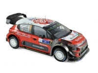 1:18 Citroen C3 WRC #7 K.Meeke Winner Rally Mexico 2017