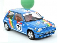 1:18 Renault 5 GT Supercinq Turbo #21 Tour de Corse 1990