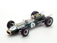 1:18 F1 Brabham BT19 #3 World Champion 1966