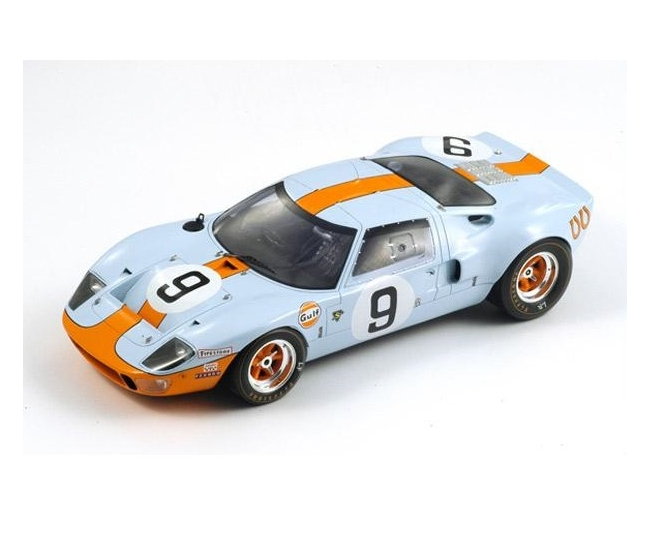 1:18 Ford GT40 #9 Winner Le Mans 1968