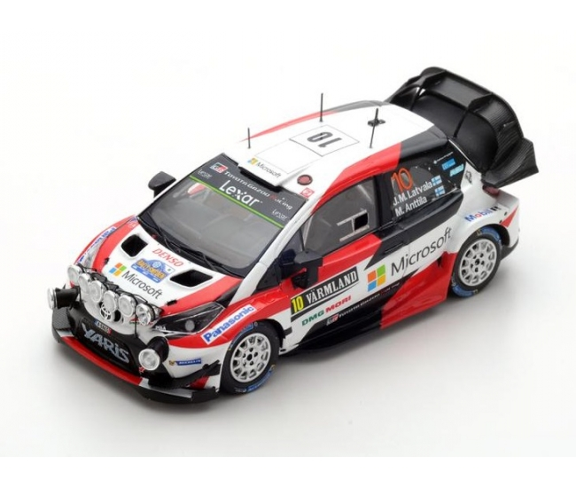 1:43 Toyota Yaris WRC #10 Winner Rally Sweden 2017
