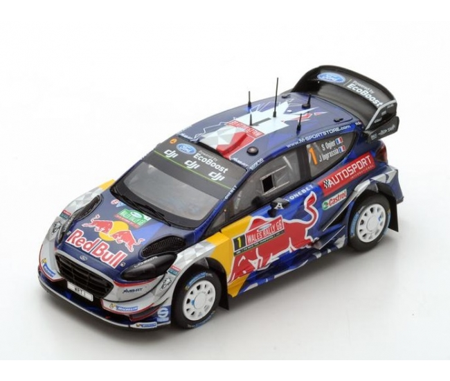 1:43 Ford Fiesta WRC #1 Ogier Rally GB 2017