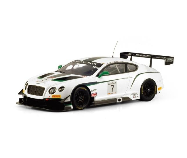 1:18 Bentley GT3 #7 Winner Silverstone 2014