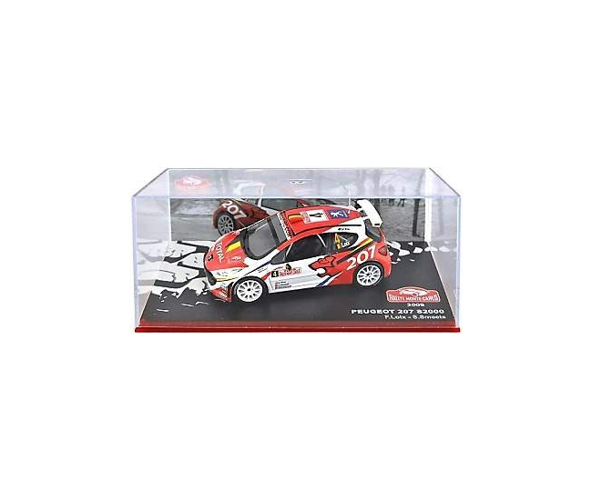 1:43 Peugeot 207 S2000 Rally Monte Carlo 2009