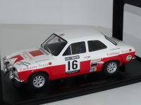 1:18 Ford Escort MK1 RS 1600 #16 T.Makinen RAC Rally 1971