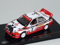 1:43 Mitsubishi Carisma GT #2 Winner Rally GB 1998
