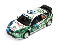 1:43 Ford Focus RS 07 WRC #7 G.Galli Rally Sweden 2008