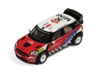 1:43 Mini John Cooper Works #52 Rally Monte Carlo 2012