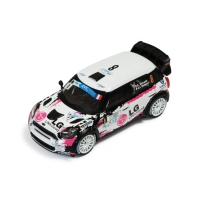 1:43 Mini Countryman WRC F.Duval Rally Wallonie 2013