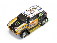 1:43 Mini All 4 Racing #305 2nd Dakar 2012