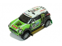 1:43 Mini All 4 Racing #302 S.Peterhansel-J.P.Cottret Dakar Winn