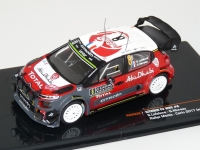 1:43 Citroen C3 WRC #8 Rally Monte Carlo Night Version 2017