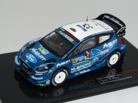 1:43 Ford Fiesta RS WRC #33 E.Evans Rally Mexico 2019
