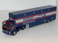 1:43 Volvo F89 Essex Lotus Racing Transporter