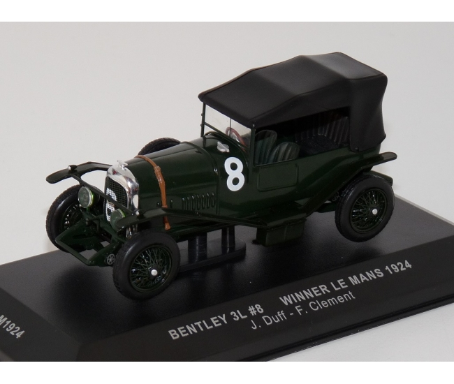 1:43 Bentley 3 Litre Sport #8 Le Mans Winner 1924