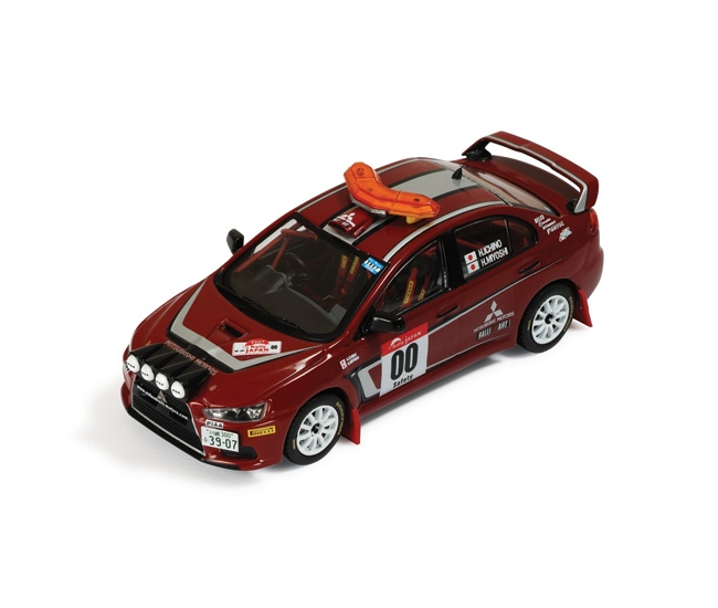 1:43 Mitsubishi Lancer Evo X Rally Japan Safety Car 2008