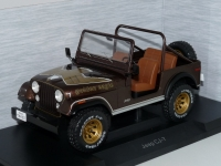 1:18 Jeep Wrangler Golden Eagle (1980)
