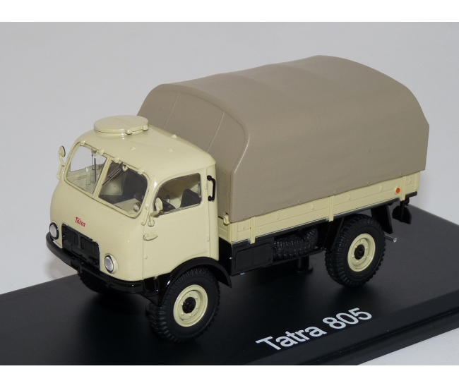 1:43 Tatra 805 Flatbed with cover