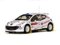1:18 Peugeot 207 S2000 #7 F.Stohl Rally Portugal 2007