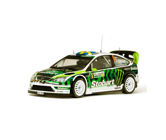 1:18 Ford Focus RS WRC Rally Bulgaria #6 2010