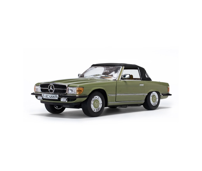 1:18 Mercedes 350SL Closed Convertible (1977)