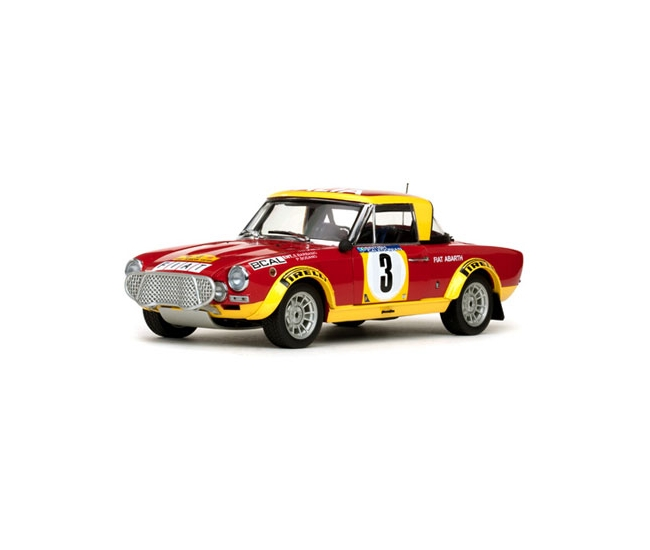 1:18 Fiat 124 Abarth #3 Rally Safari 1974